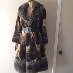 Jackets & Blazers - Vintage faux FUR COAT London Fog?